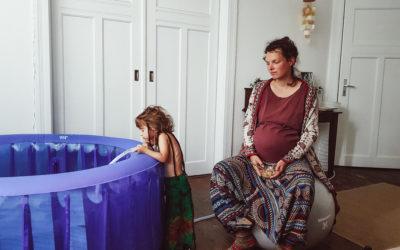 Die Hausgeburt meiner zweiten  Tochter